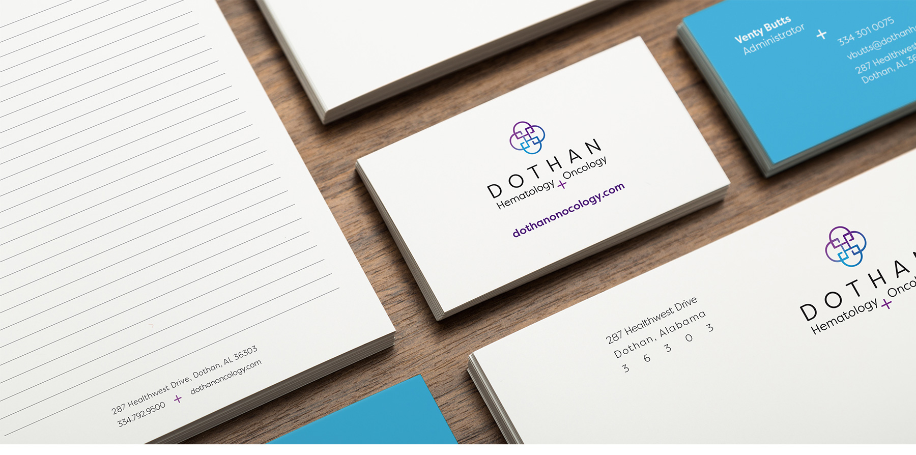 dothan hematology and oncology stationery design